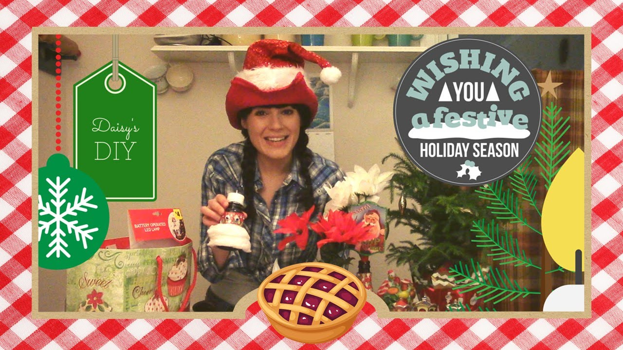 Daisy's DIY Holiday Gift Guide - YouTube