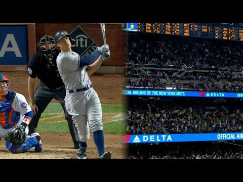 Judge's monster home run at Citi Field