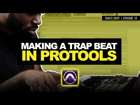 Pro Tools Beat Making | Making A Trap Beat + Gross Beat Alternative | Thats Dope Episode 15