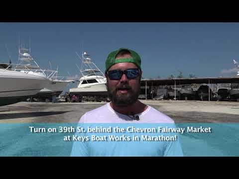 Free BBQ at Keys Boat Works in Marathon, Florida Keys, All Are Welcome!