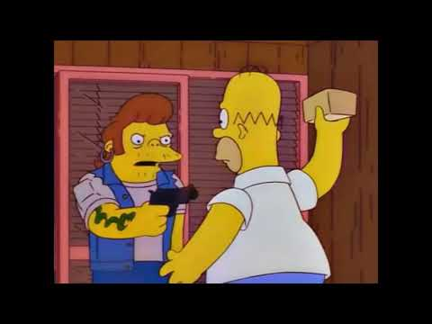 The Simpsons Marge keeps the gun