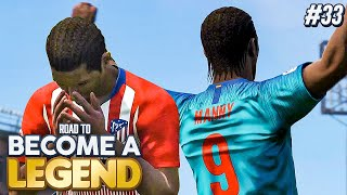 """ROAD TO BECOME A LEGEND! PES 2019 #33 """"TOUGH ENDING TO THE SEASON!"""""""
