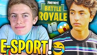J'AI CRÉE UNE NOUVELLE TEAM PRO SUR FORTNITE BATTLE ROYALE !!! (Ft. Inoxtag)