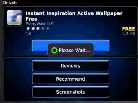Att DeviceAlive Bold - BlackBerry World