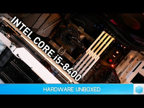 Intel Core i5-8400 Review, Cheapest 6-core Money Can Buy! [Current Gen]
