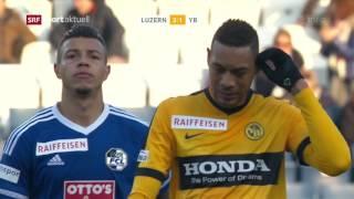 Luzern - Young Boys 4:1 12.02.2017