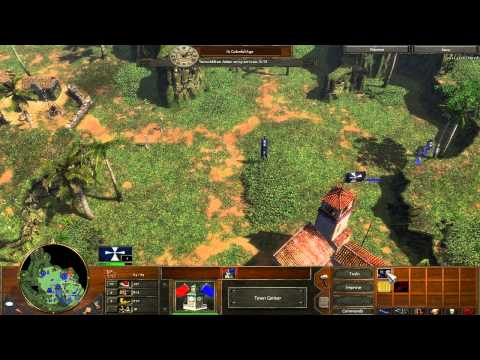 Age of Empires 3 - Act 1 Mission 5 - Temple of the Aztecs - Campaign Walkthrough - Hard