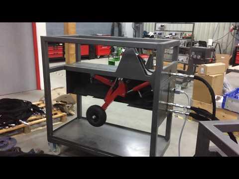 Landing gear of aeronautical hydraulic bench IDSYSTEM