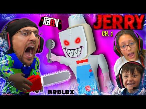 ESCAPE ROBLOX JERRY The Ice Scream Man! (FGTeeV In Cold Storage Ch 2)