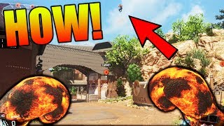 WORLDS BEST HIDING SPOT!! BO3 ON TOP OF THE MAP?!