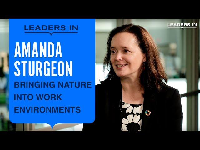 Amanda Sturgeon | Full Interview at Greenbuild 2019