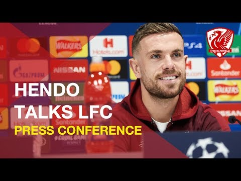 Jordan Henderson on LFC, the Champions League and Premier League