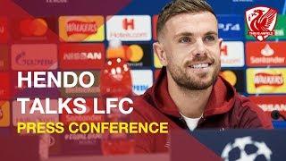 Jordan Henderson on LFC, the Champions League and Premier League
