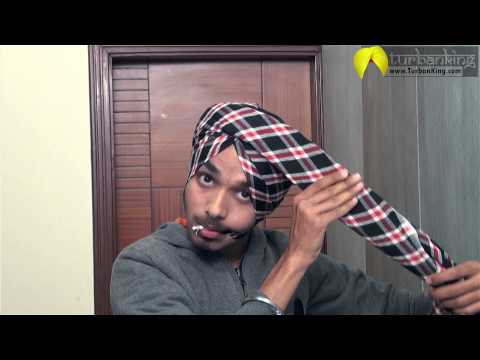 How to tie Parna | Parna Tutorial | Learn Best Turban Style Parna
