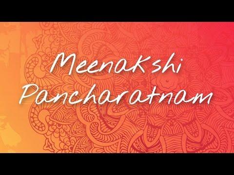 Meenakshi Pancharatnam | Sacred Stotram byBhanumathi Narasimhan | The Art of Living