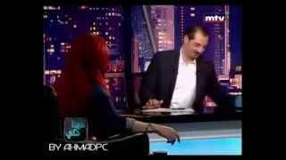 أخطر لقاء هيفاء وهبي ... mtv لبنان