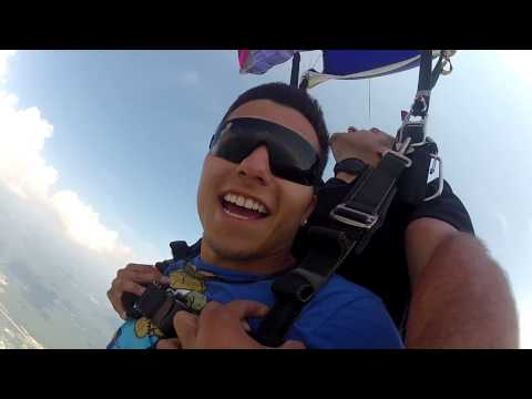Joe Russo's first tandem jump
