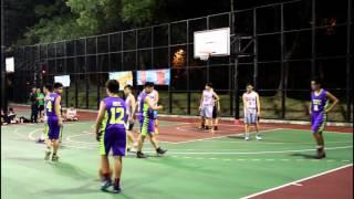 [男子乙組籃球] 學界比賽馮梁結對粉嶺救恩 | 24/11/2015