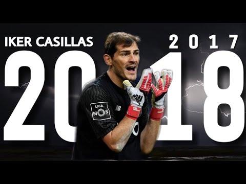 Iker Casillas || INSANE Saves 2017/18  || Ready For O Clàssico - HD 1080p