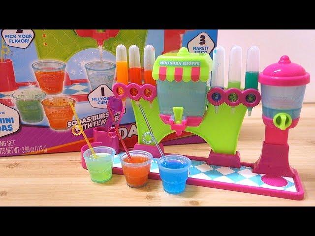 야미 너미스-미니 소다숍 Yummy Nummies-Mini Soda Shoppe Maker