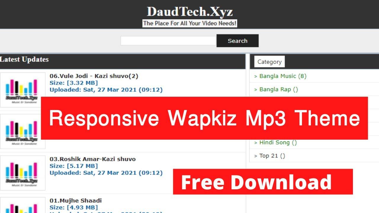 Best-Music-Style-Wapkiz-Theme 2021 FarhanBD.Tk