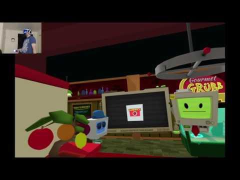Job Simulator playthrough pt4 - Gourmet Chef Shuffle! SURPRISE Celeb Appearance!