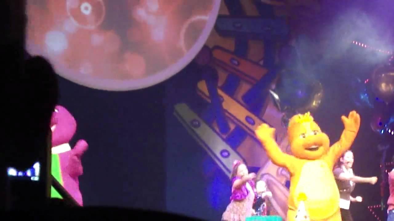 Barney Live In Concert Birthday Bash YouTube - Barney live in concert birthday