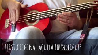 Aquila Thundergut Vs Thunder Reds - side by side comparison. (Use headphones.)
