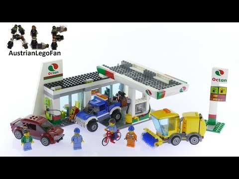 Lego City 60132 Service Station - Lego Speed Build Review