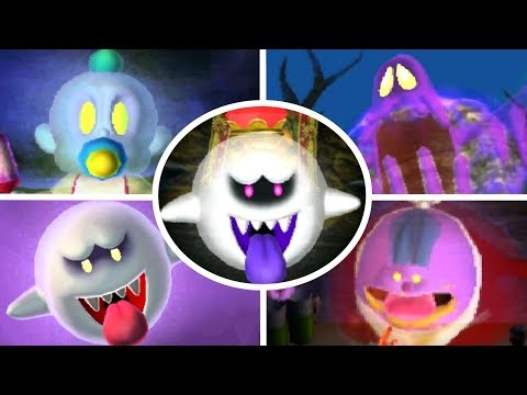 Luigi's Mansion 3DS - All Portrait Ghosts Bosses (Gold Portraits/A Rank)