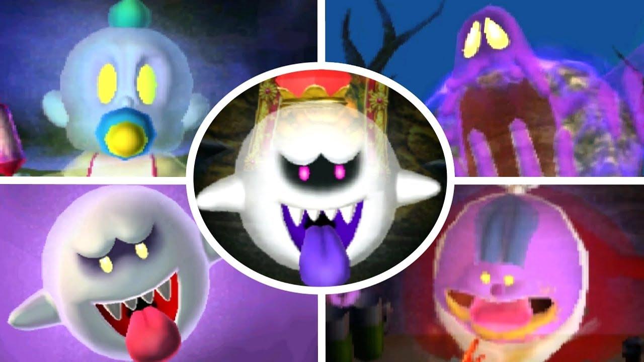 Luigi S Mansion 3ds All Portrait Ghosts Bosses Gold Portraits A Rank
