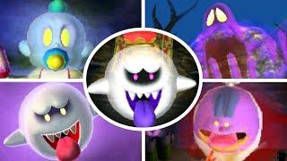 Luigi's Mansion 3DS - All Portrait Ghosts Bosses (Gold Portraits/A Rank)