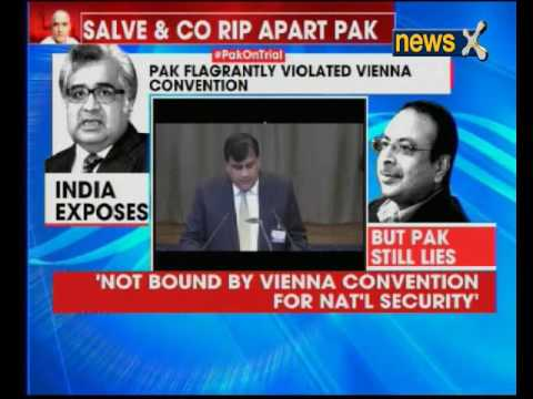 Pak on trial: NewsX reports live from ICJ headquarters in Hague