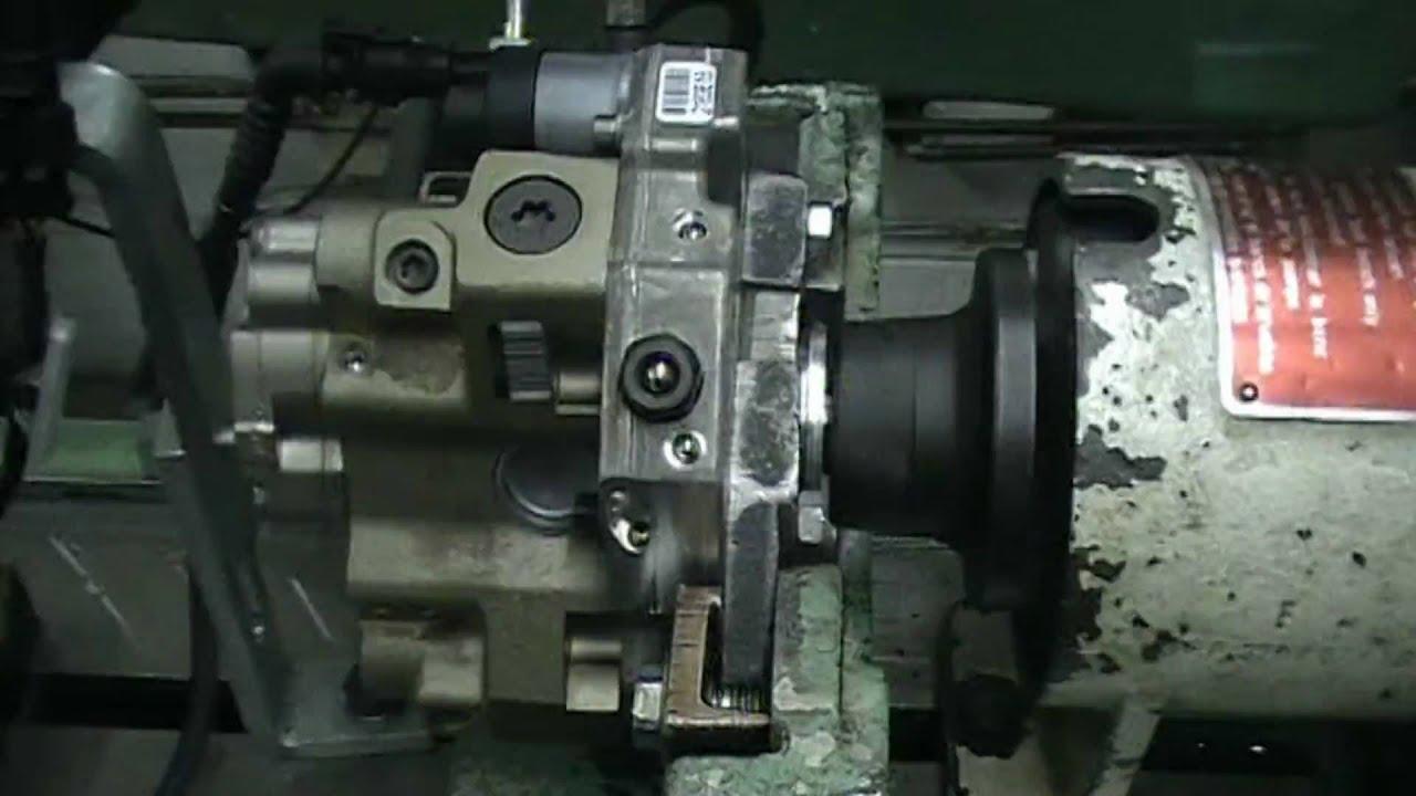 Common Railsel Fuel Injector Test