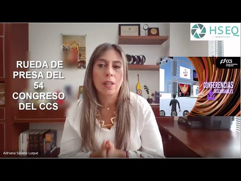 Rueda de prensa Consejo Colombiano de Seguridad - Congreso 54 - Feria la Seguridad 35 Entrada Gratis