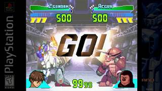 Gundam: Battle Assault | Z Gundam (Story Mode) | Playstation (TAS)