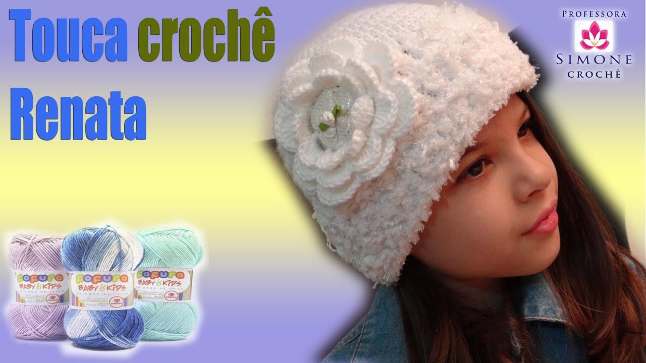 Touca Infantil Renata Fofura Soft - Professora Simone - YouTube fa2dfe8fe0f