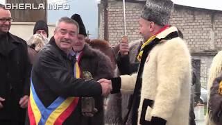 Convoi carute moroseni spre Alba Iulia intampinat la Iclod (Cluj) 26 11 2018