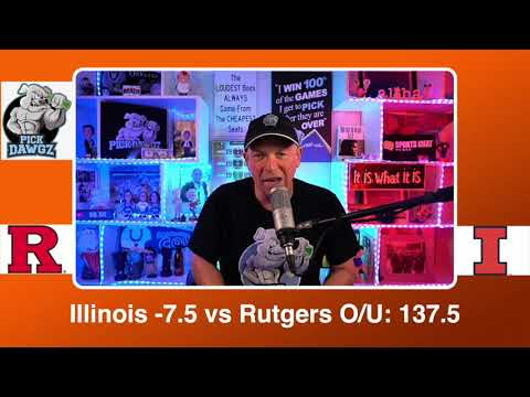 Illinois vs Rutgers 3/12/21 Free College Basketball Pick and Prediction CBB Betting Tips