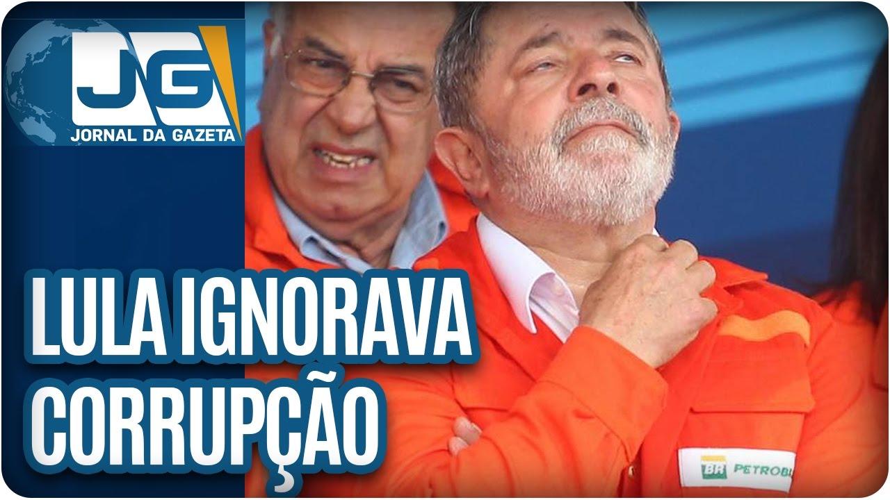 Download Lula diz que ignorava corrupção na Petrobras