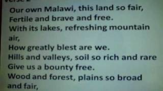 Malawi National Anthem (English)