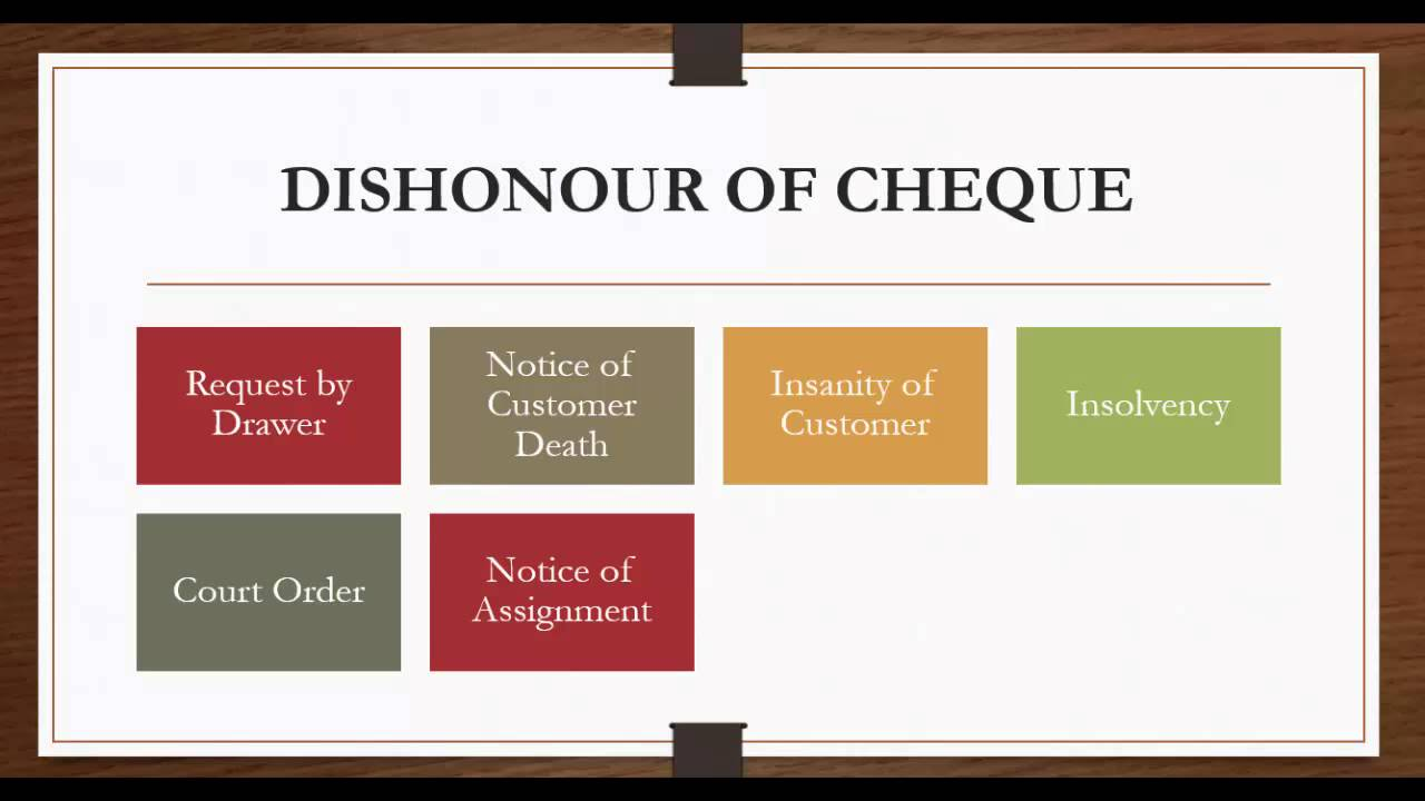 dishonour of cheque Querywe are a service provider company and we receive cheque payments from many of our customers one of our clients is not paying us regularly his cheques are frequently bouncing we have requested him many times to make timely payments and to ensure that his cheques are honoured we would now want to take legal action regarding the cheque.