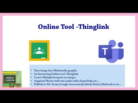 Online Tool to Turn image into  Multimedia Content for teaching