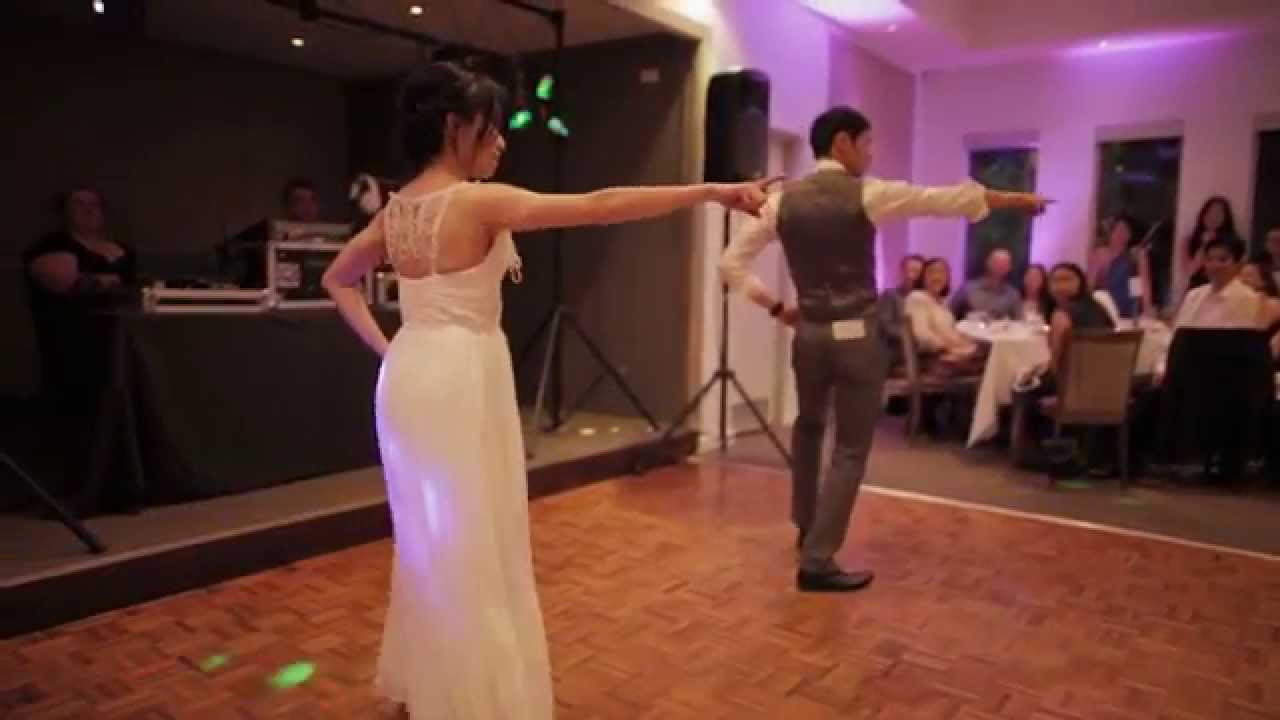 surprise wedding first dance youtube