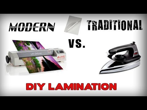 DIY - How To Laminate Paper Without Lamination Machine