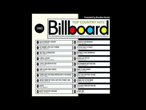 Billboard Top Country Hits - 1992