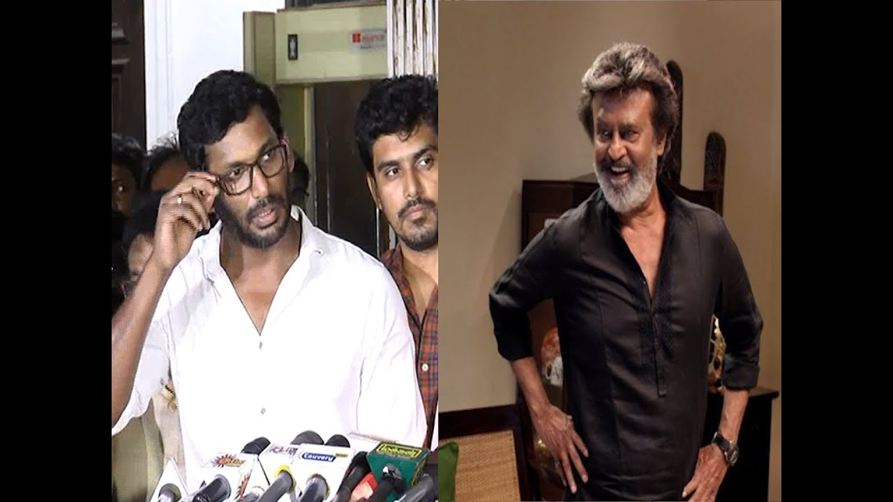 Vishal voices out for Kaala!