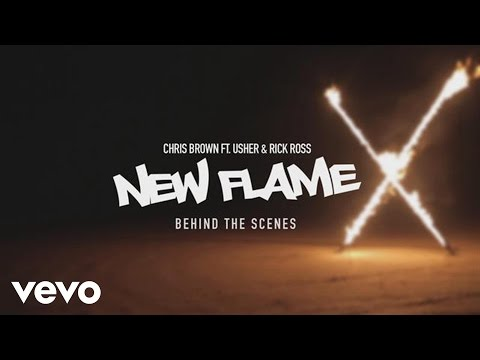 Chris Brown - New Flame feat. Usher & Rick Ross - Behind The Scenes