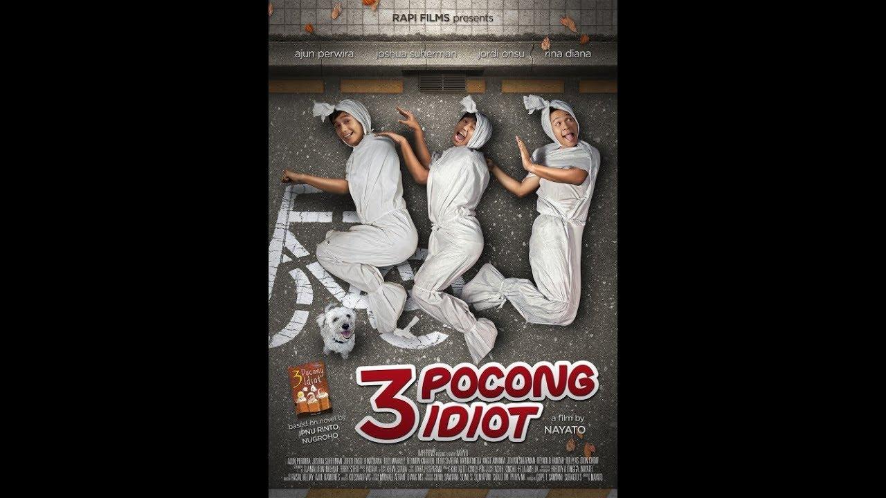Film horor lucu | 3 POCONG IDIOT