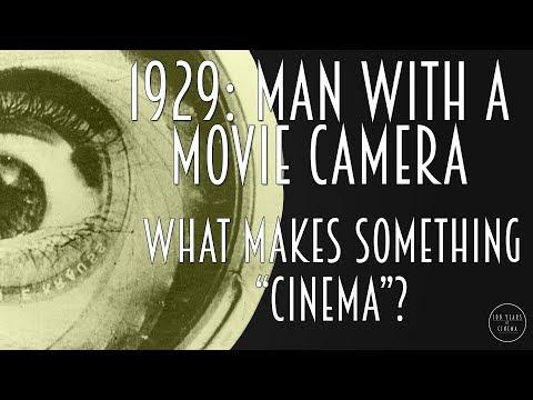 "1929: What makes something ""Cinema""?"